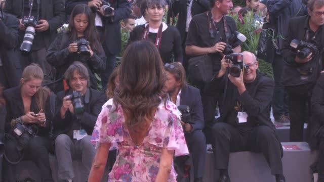 Maria Grazia Cucinotta at 'Suburbicon' Red Carpet 74th Venice International Film Festival at Palazzo del Cinema on September 02 2017 in Venice Italy