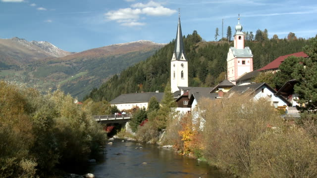 maria himmelfahrt church - carinthia stock videos & royalty-free footage