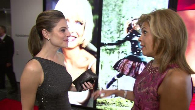 maria menounos and hoda kotb at the self magazine women doing good awards at new york ny. - hoda kotb stock videos & royalty-free footage