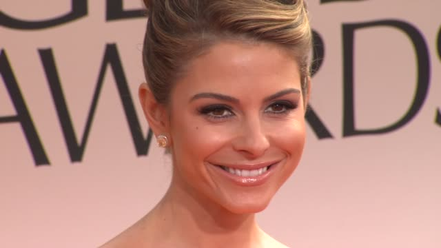 Maria Menounos at 69th Annual Golden Globe Awards Arrivals on January 15 2012 in Beverly Hills California