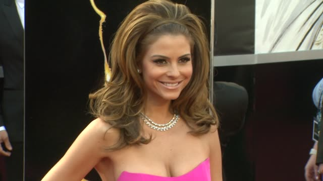 Maria Menounos at 85th Annual Academy Awards Arrivals in Hollywood CA on 2/24/13