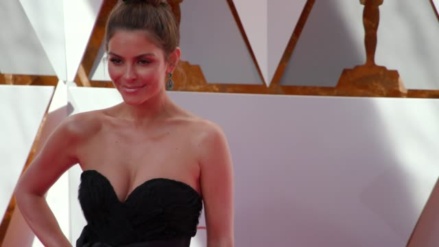Maria Menounos at 90th Academy Awards Arrivals 4K Footage at Dolby Theatre on March 04 2018 in Hollywood California