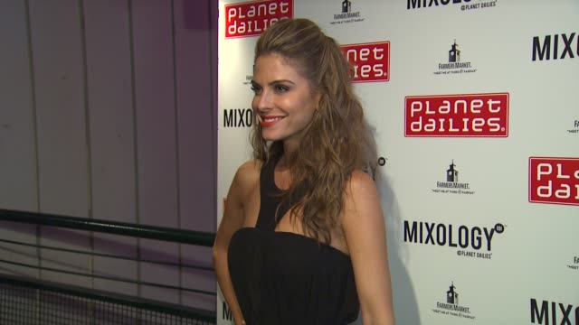 maria menounos at joey fatone and kym johnson host after party for premiere of dancing with the stars at mixology 101 on 9/24/12 in los angeles ca - joey fatone stock videos & royalty-free footage