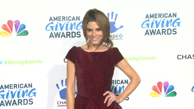 Maria Menounos at The 2nd Annual American Giving Awards Presented By Chase on in Pasadena CA