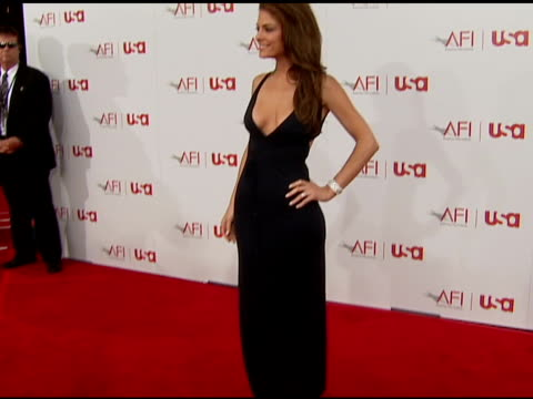 maria menounos at the 34th afi life achievement award: a tribute to sean connery at the kodak theatre in hollywood, california on june 8, 2006. - afi life achievement award stock videos & royalty-free footage
