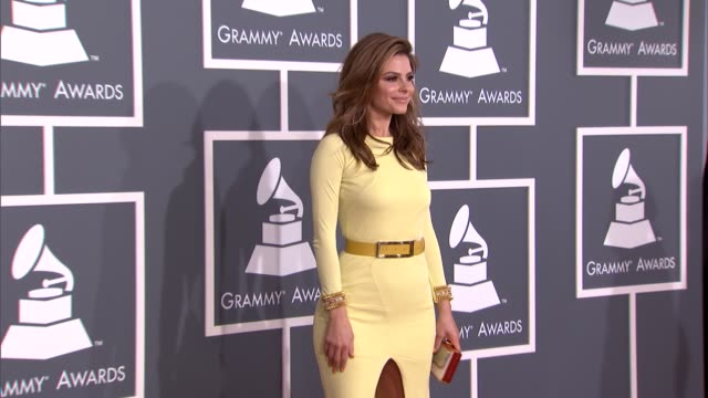 Maria Menounos at The 55th Annual GRAMMY Awards Arrivals 2/10/2013 in Los Angeles CA