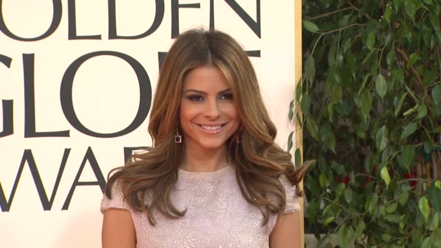 Maria Menounos at the 70th Annual Golden Globe Awards Arrivals in Beverly Hills CA on 1/13/13