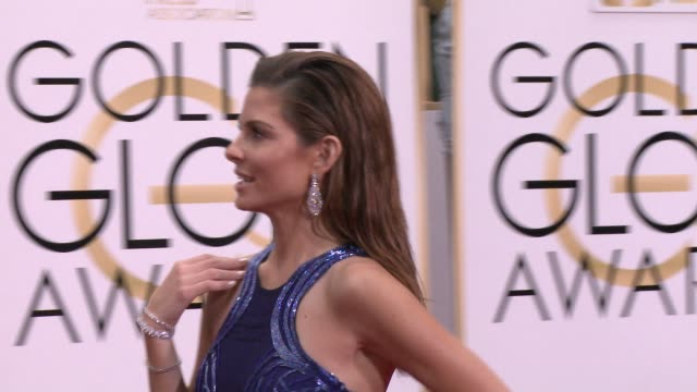 Maria Menounos at the 72nd Annual Golden Globe Awards Arrivals at The Beverly Hilton Hotel on January 11 2015 in Beverly Hills California