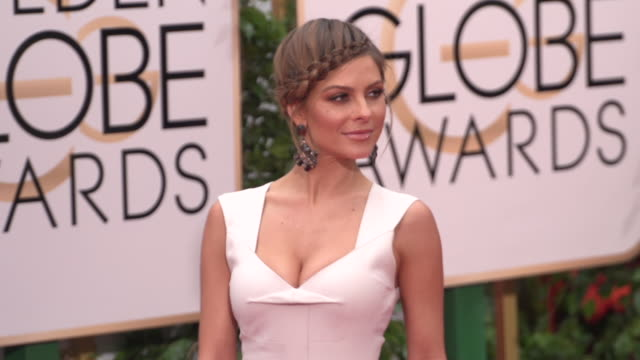 Maria Menounos at the 73rd Annual Golden Globe Awards Arrivals at The Beverly Hilton Hotel on January 10 2016 in Beverly Hills California 4K