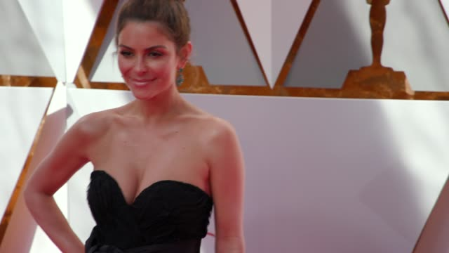 Maria Menounos at the 90th Academy Awards Arrivals at Dolby Theatre on March 04 2018 in Hollywood California