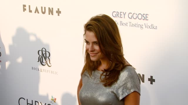 maria menounos at the chrysalis butterfly ball at a private residence in los angeles california on june 2 2007 - chrysalis butterfly ball video stock e b–roll