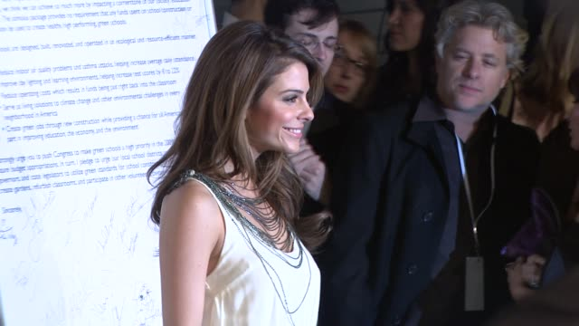 maria menounos at the global green usa's 6th annual preoscar party benefiting green schools at los angeles ca - pre party stock videos and b-roll footage
