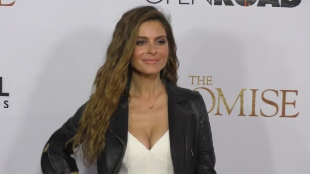 Maria Menounos at The Promise Los Angeles Premiere at TCL Chinese Theatre on April 12 2017 in Hollywood California