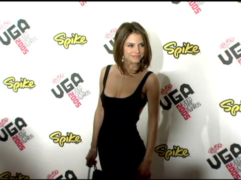Maria Menounos at the Spike TV Video Game Awards at the Gibson Amphitheatre in Los Angeles California on November 18 2005