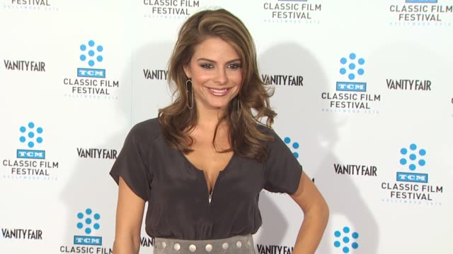 Maria Menounos at the TCM Classic Film Festival Opening Night Screening Of 'A Star Is Born' at Hollywood CA