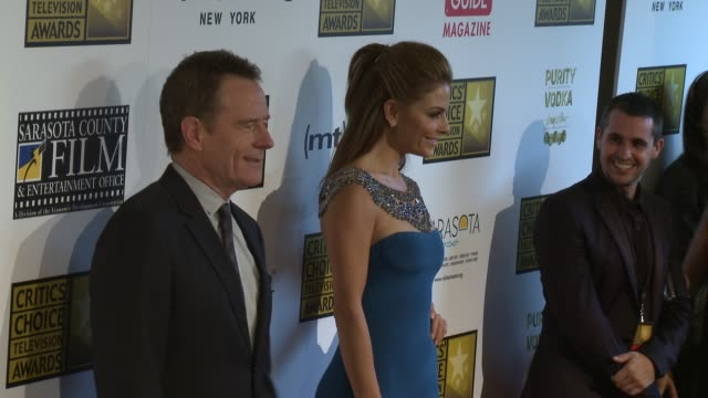 Maria Menounos Bryan Cranston at Broadcast Television Journalists Association's 3rd Annual Critics' Choice Television Awards on 6/10/2013 in Beverly...