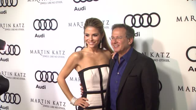Maria Menounos Martin Katz at the Audi And Martin Katz Celebrate The 2012 Golden Globe Awards in West Hollywood CA