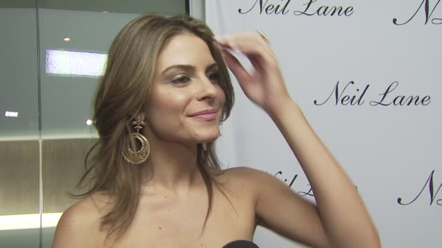 Maria Menounos on attending tonight's event on if she's wearing any Neil Lane jewelry on her favorite pieces by Neil Lane and on her well wishes for...