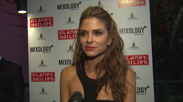maria menounos on being in the audience the show emmy for tom bergeron at joey fatone and kym johnson host after party for premiere of dancing with... - joey fatone stock videos & royalty-free footage