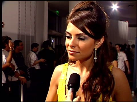maria menounos on what she likes about maxim at the maxim celebration of super bowl xli at h?tel de maxim in south beach, florida on february 2, 2007. - south beach stock videos & royalty-free footage