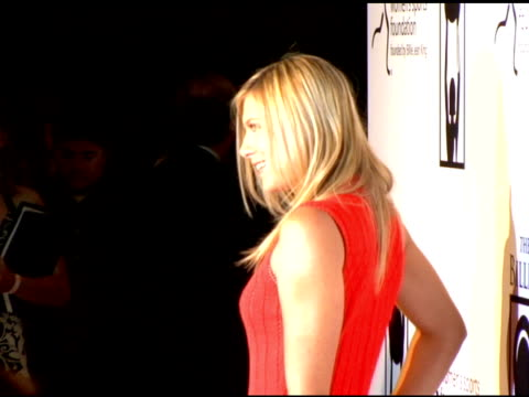 maria sharapova at the women's sports foundation presents inaugural the billies at the beverly hilton in beverly hills california on april 20 2006 - maria sharapova stock videos and b-roll footage