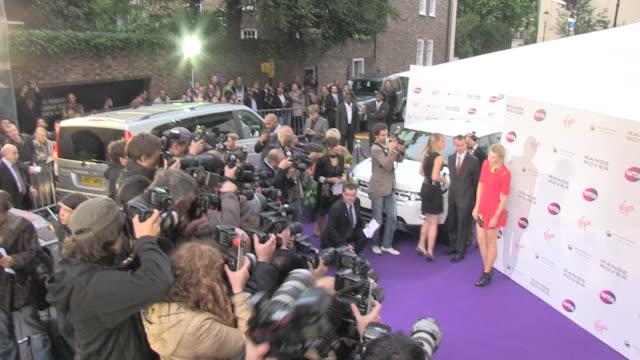 vídeos de stock, filmes e b-roll de maria sharapova at the wta prewimbledon party at london england - maria sharapova