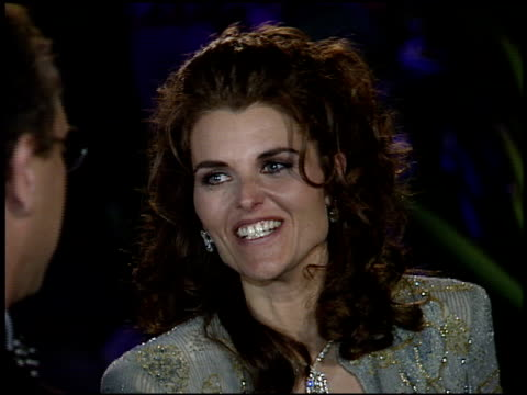 maria shriver at the 1995 academy awards morton party at morton's in west hollywood, california on march 27, 1995. - 67th annual academy awards stock videos & royalty-free footage