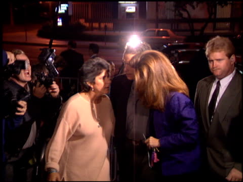 maria shriver at the 'love affair' premiere at dga theater in los angeles california on october 13 1994 - dga theater stock videos & royalty-free footage