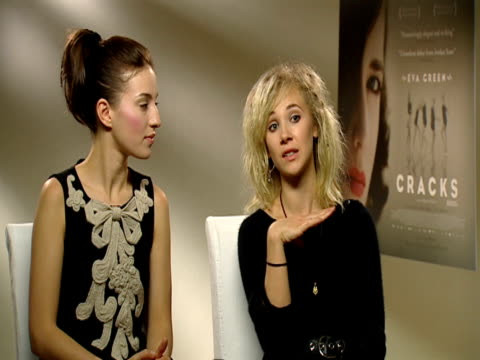 Maria Valverde and Juno Temple on wondering why they never saw Eva Green off set but that it definitely worked because of the nature of the film at...