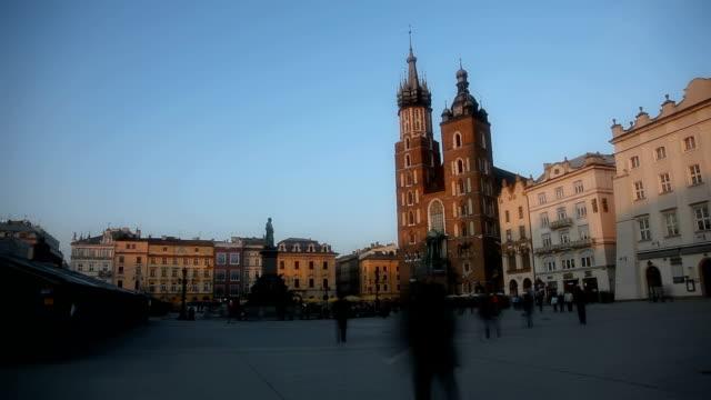 Marienkirche Kirche, die Stadt Krakau, Polen