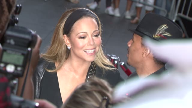 mariah carey and nick cannon at 'the butler' new york premiere in new york ny on 8/5/13 - nick cannon stock videos & royalty-free footage