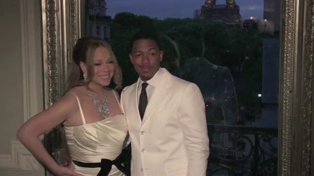 mariah carey and nick cannon celebrate their 4th year wedding anniversary mariah carey and nick cannon in paris on april 27 2012 in paris france - nick cannon stock videos & royalty-free footage