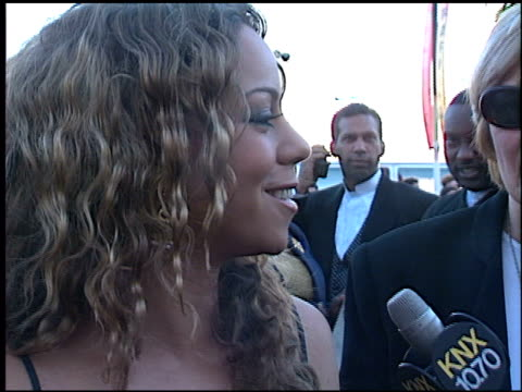 mariah carey at the 1998 blockbuster awards at pantages theatre in hollywood california on march 10 1998 - mariah carey stock-videos und b-roll-filmmaterial