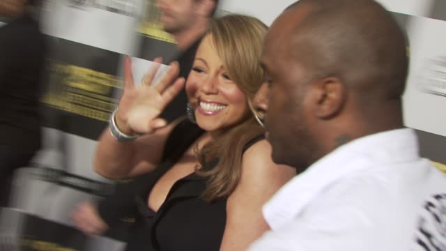 mariah carey at the 2010 film independent's spirit awards - arrivals part 2 at los angeles ca. - independent feature project stock videos & royalty-free footage