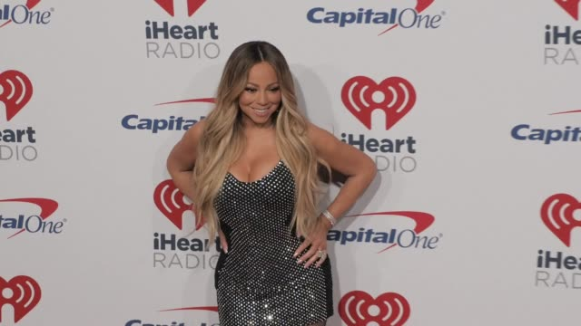 mariah carey at the 2018 iheartradio music festival day 1 at tmobile arena on september 21 2018 in las vegas nevada - mariah carey stock-videos und b-roll-filmmaterial