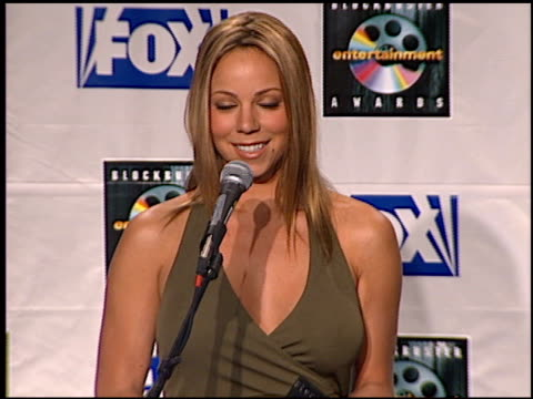 mariah carey at the blockbuster awards 99 at the shrine auditorium in los angeles california on may 25 1999 - mariah carey stock-videos und b-roll-filmmaterial