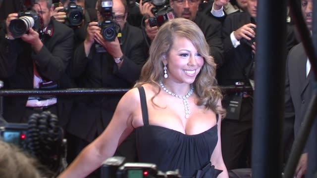 Mariah Carey at the Cannes Film Festival 2009 Thirst/Precious Steps at Cannes