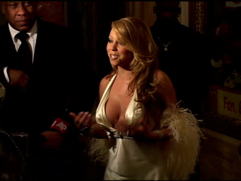 mariah carey at the mariah carey record release party on april 21 2005 - mariah carey stock-videos und b-roll-filmmaterial