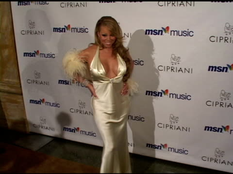 mariah carey at the mariah carey record release party on april 21 2005 - mariah carey stock videos and b-roll footage