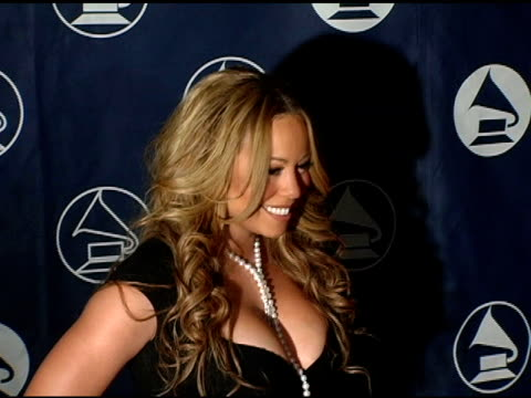 mariah carey at the recording academy honors 2005 by the new york chapter of the recording academy at gotham hall in new york, new york on december... - mariah carey stock videos & royalty-free footage