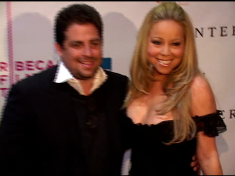 mariah carey at the 'the interpreter' new york premiere at the ziegfeld theatre in new york new york on april 19 2005 - mariah carey stock videos and b-roll footage