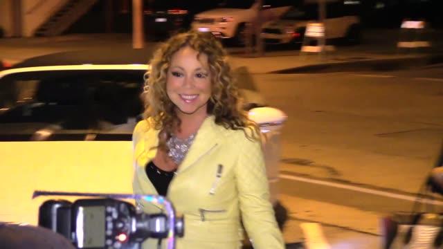 vidéos et rushes de mariah carey brett ratner at craigs in westwood in celebrity sightings in los angeles - 2015