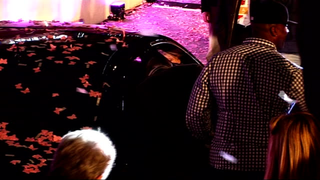 mariah carey launches perfume and turns on lights at westfield shopping centre england london westfield shopping centre throughout*** car containing... - mariah carey stock-videos und b-roll-filmmaterial