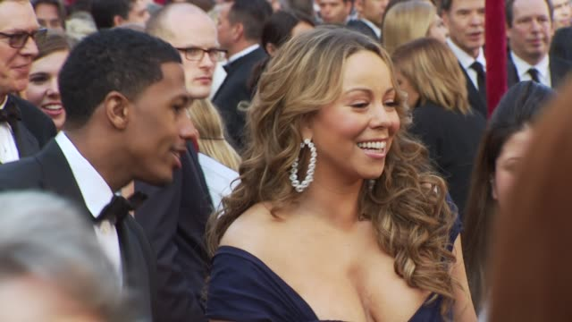 Mariah Carey Nick Cannon at the 82nd Annual Academy Awards Arrivals at Hollywood CA