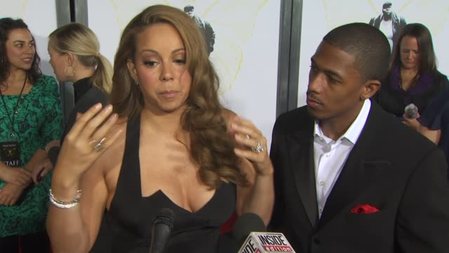 mariah carey nick cannon on the book by sapphire and on what she learned from precious at the afi fest 2009 'precious based on the novel 'push' by... - precious gemstone stock videos & royalty-free footage