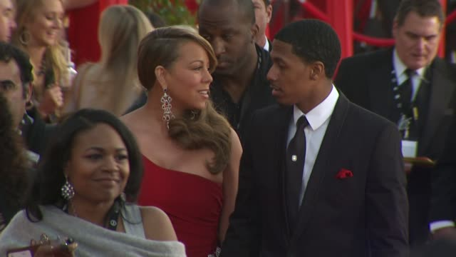 Mariah Carey Nick Canon at the 16th Annual Screen Actors Guild Awards Arrivals at Los Angeles CA