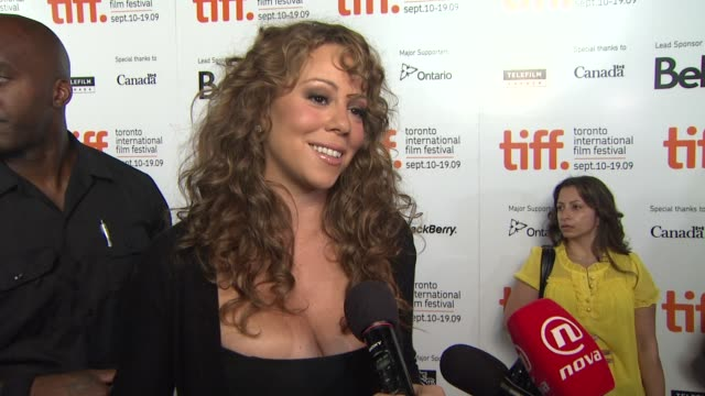 mariah carey on the physical transformation she had to make for this film and why she wanted to be a part of this film at the 'precious based on the... - precious gemstone stock videos & royalty-free footage