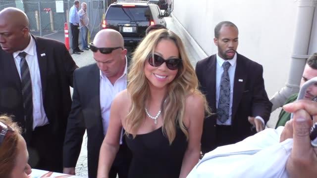 Mariah Carey outside Jimmy Kimmel Live in Hollywood in Celebrity Sightings in Los Angeles