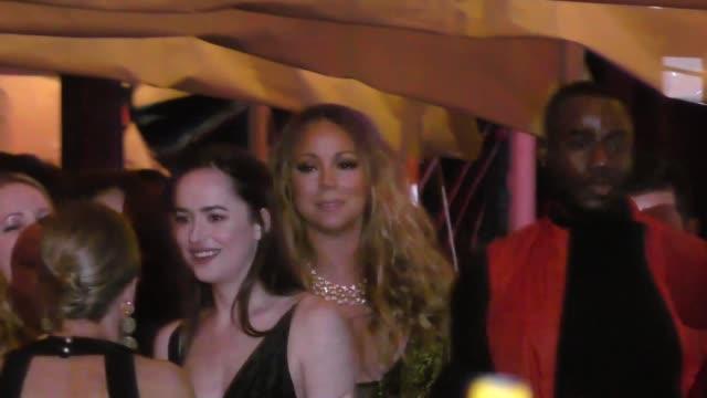 Mariah Carey outside the Vanity Fair Oscar Party in Celebrity Sightings in Los Angeles