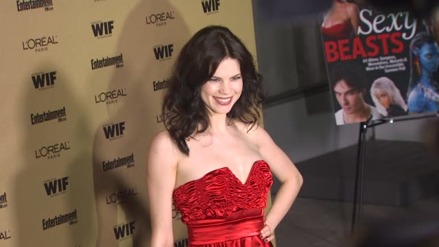 mariana klaveno at the entertainment weekly and women in film pre-emmy party at west hollywood ca. - pre emmy party stock videos & royalty-free footage